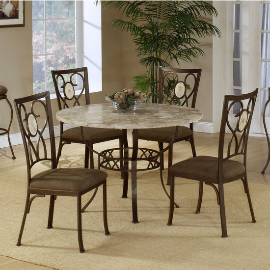 Brookside Round 5-Piece Dining Sets by Hillsdale Furniture