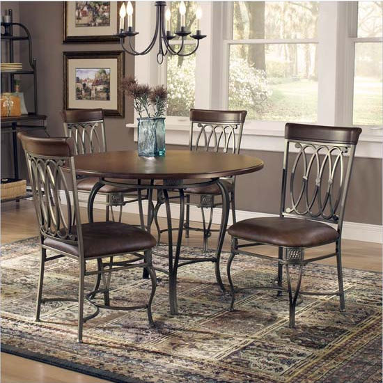 Montello 5-Piece Dining Set by Hillsdale Furniture