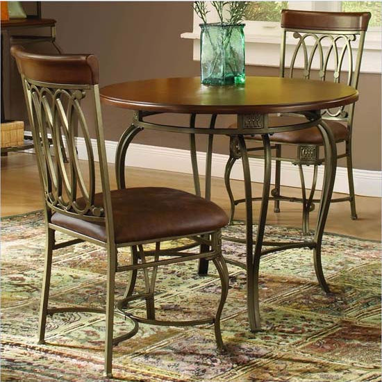 Montello 3-Piece Round Dining Set by Hillsdale Furniture