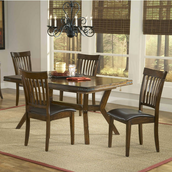 5-Piece & 7-Piece Arbor Hills Dining Sets by Hillsdale Furniture