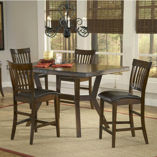 5-Piece & 7-Piece Arbor Hills Counter Height Dining Sets  by Hillsdale Furniture