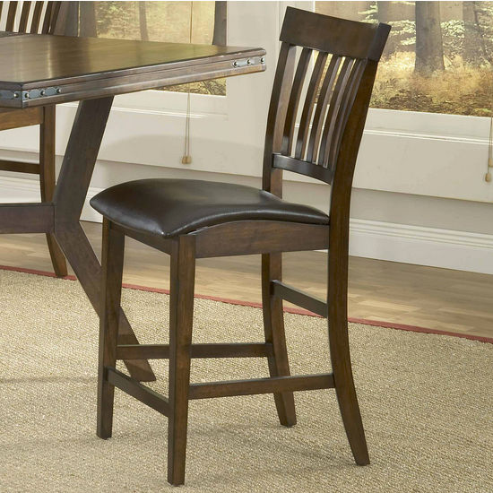 Hillsdale - Arbor Hills Counter Height Stools - Set of 2, Colonial Chestnut