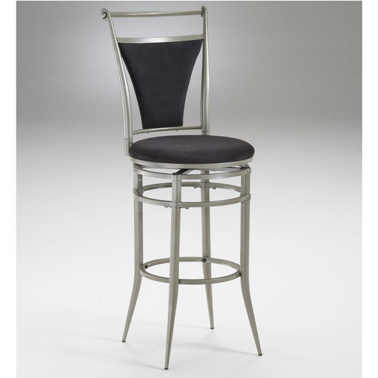 Hillsdale Furniture Cierra Swivel Counter or Bar Height Stool