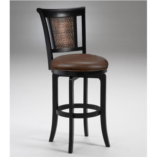 Hillsdale Furniture Cecily Swivel Counter or Bar Height Stool