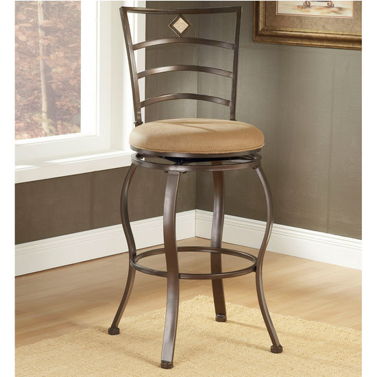 Hillsdale Furniture Marin Swivel Counter or Bar Height Stool