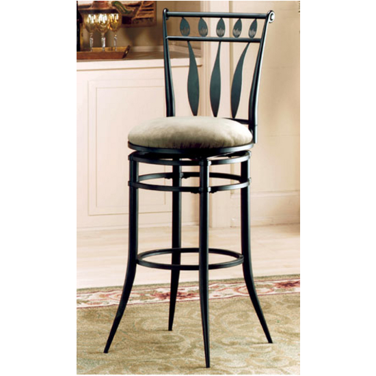"Hillsdale Hudson Swivel, 30"" H Bar Stool"