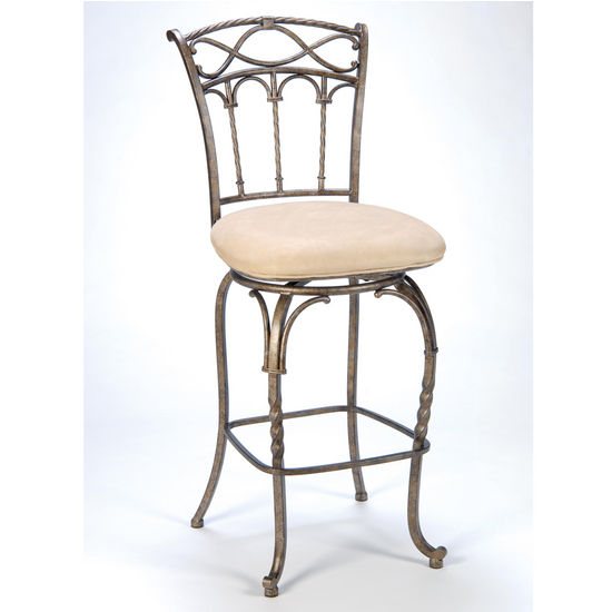 "Hillsdale Kendall Counter or Bar Stool, 26"" or 30"" Seat Height"