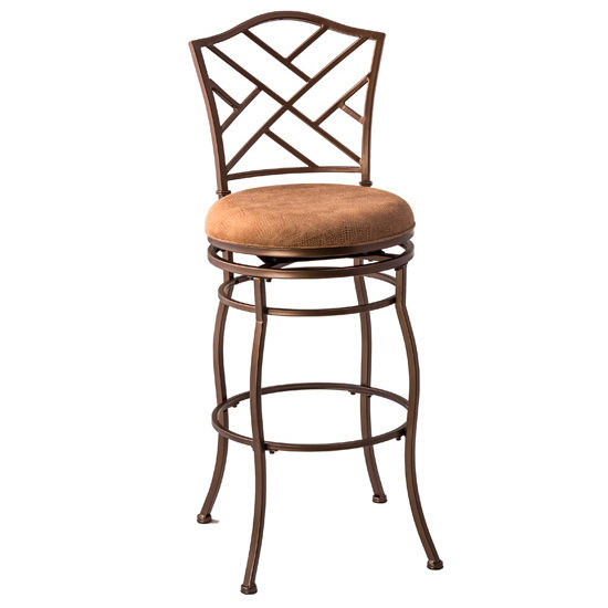 "Hillsdale Hanover Swivel Bar Stool, 30"" Seat Height"