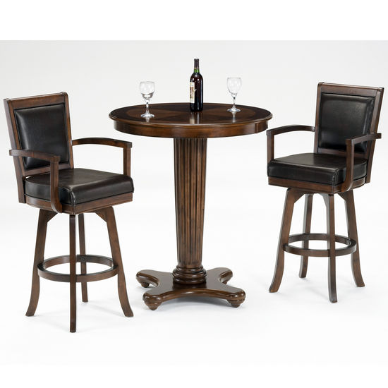 Hillsdale Furniture Ambassador 3-Piece Bar Set