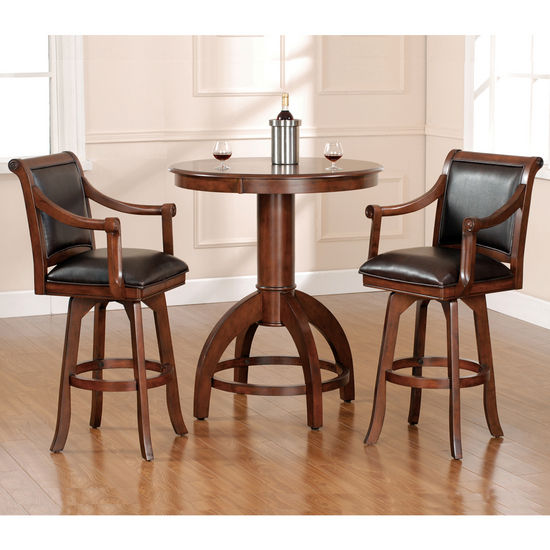 Hillsdale Furniture Palm Springs 3-Piece Bar Set