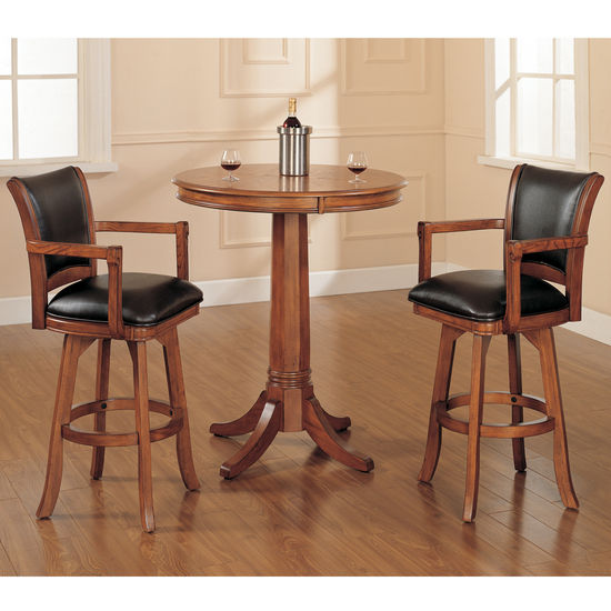 Hillsdale Furniture Park View 3-Piece Bar Set