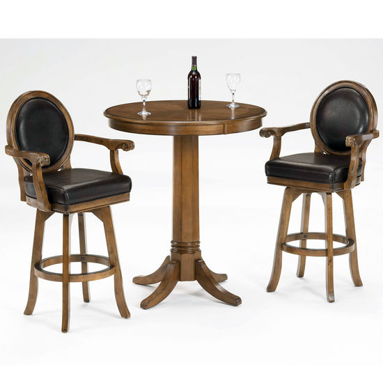 Hillsdale Furniture Warrington 3-Piece Bar Set