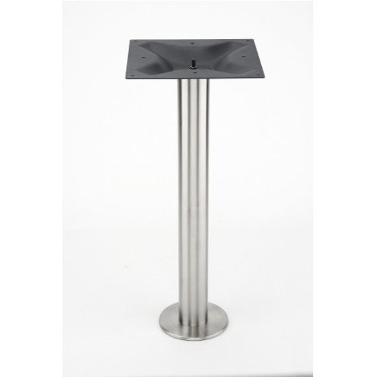 Eclipse Stainless Steel Bolt Down Table Base