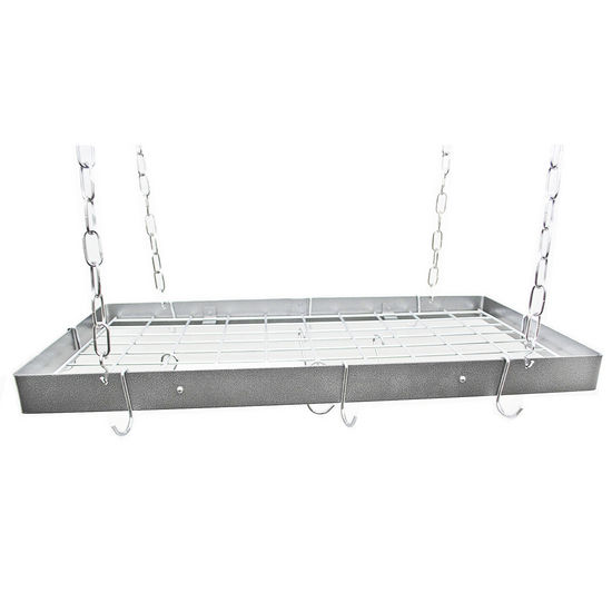 Rogar Gourmet Collection Rectangle Pot Racks with Grid