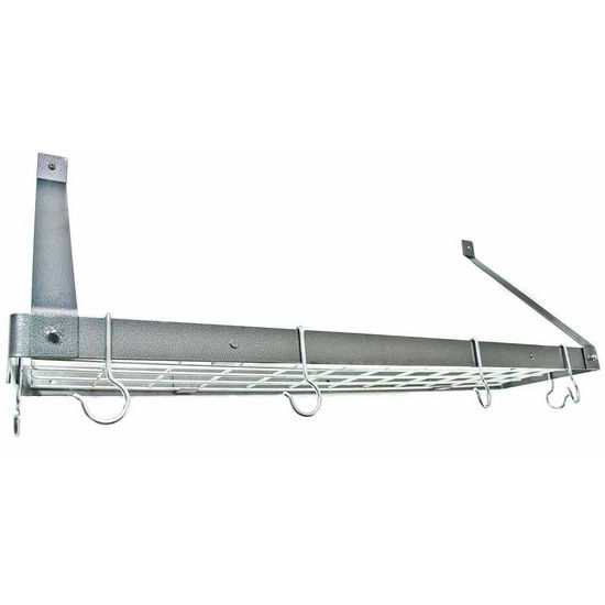 Rogar - Wall Mount Pot Rack with Grid