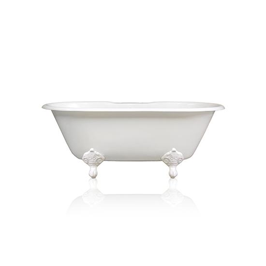 White Bathtub, Side View