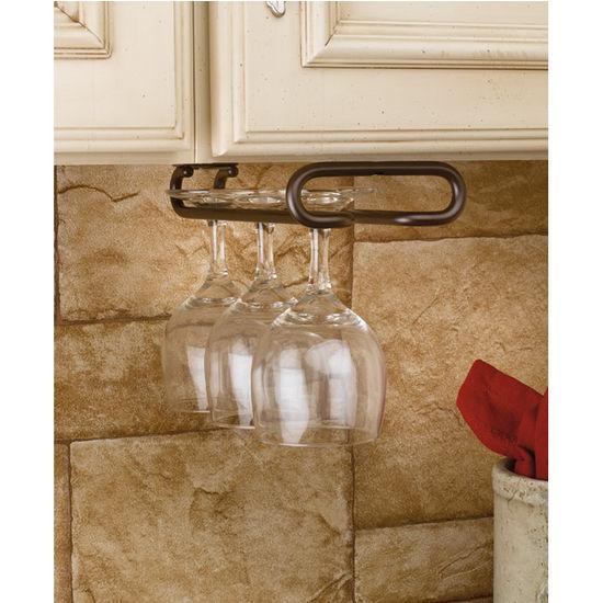 wine glass stemware racks for shelf or under cabinet mounting by rev a shelf. Black Bedroom Furniture Sets. Home Design Ideas