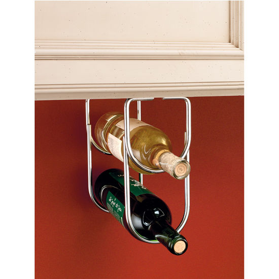 Double Bottle Wine Racks For Fitting Under Cabinet Or Shelf By Rev A