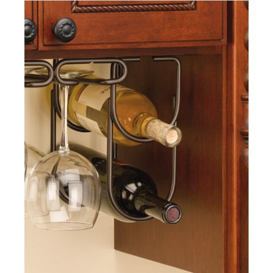 Double Bottle Wine Racks For Fitting Under Cabinet Or