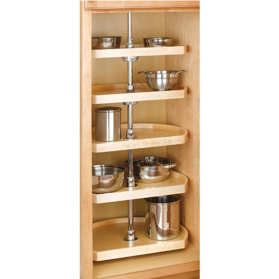5 Shelf D Shaped Pantry Set