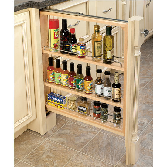 cabinet organizers kitchen base cabinet fillers with pull out