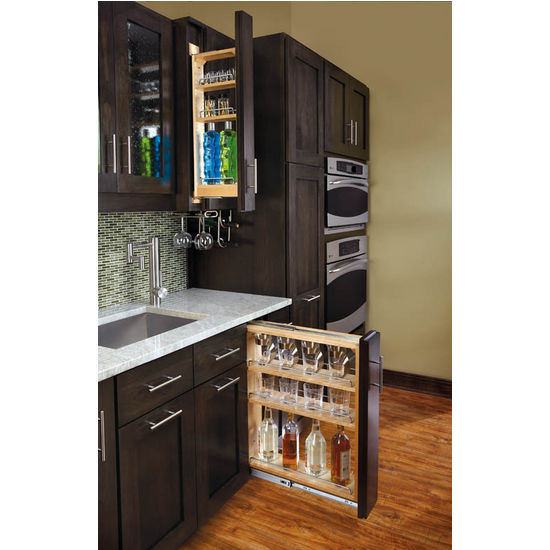 Cabinet Organizers - Kitchen Base Cabinet Fillers with Pull-Out ...