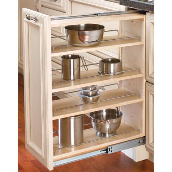 Kitchen Cabinet Pull Out Organizer: Kitchen Base Cabinet Fillers With