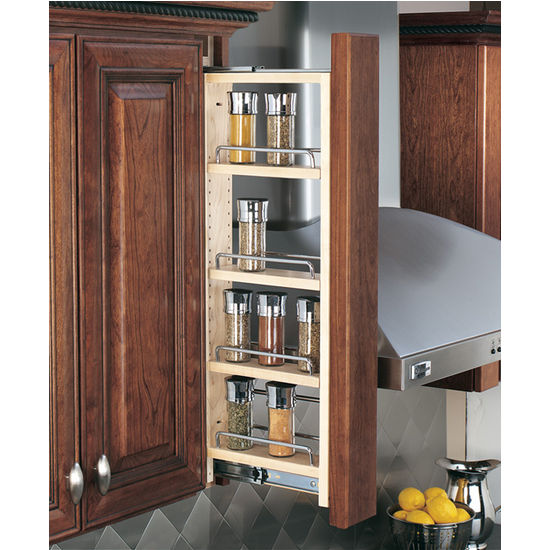 Kitchen Cabinet Pull Out Organizers kitchen cabinet accessories - kitchen wall cabinet filler pull-out
