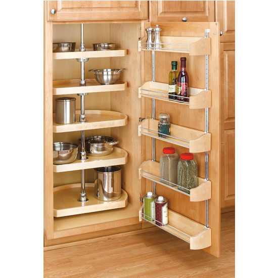 Cabinet Organizers Rev A Shelf Wooden Door Storage Trays