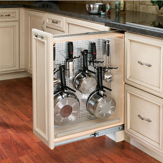 Rev A Shelf Kitchen Desk Or Vanity Base Cabinet Pullout