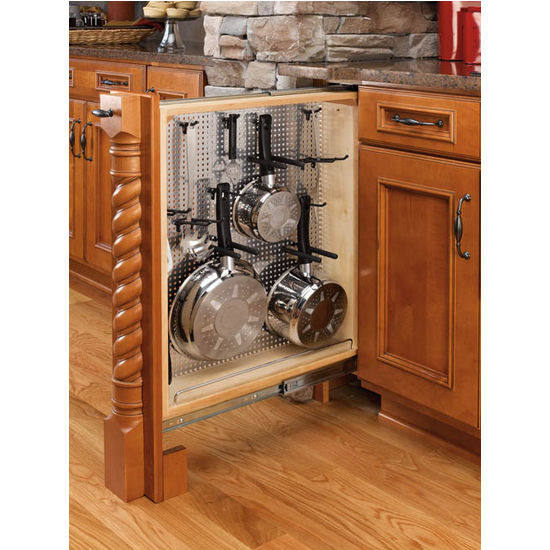 Rev A Shelf Kitchen Desk Or Vanity Base Cabinet Pullout Filler