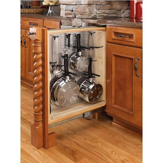 Rev A Shelf Kitchen Desk Or Vanity Base Cabinet Pullout