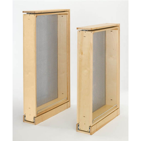 kitchen cabinet filler organizer with perforated