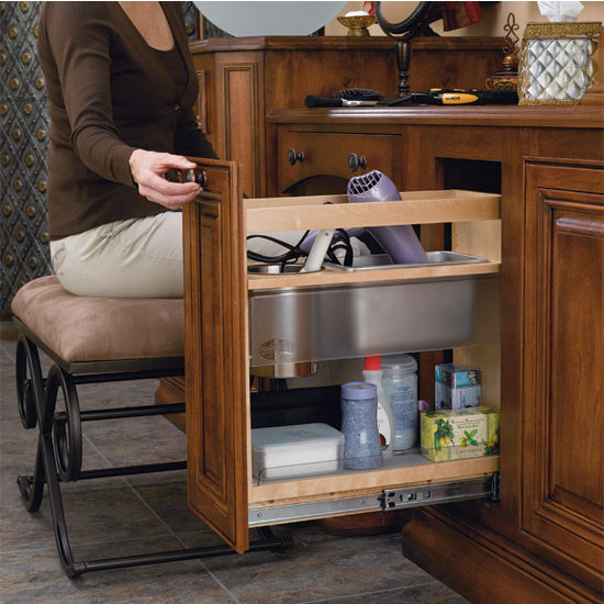 Cabinet Organizers Vanity And Base Cabinet Pull Out