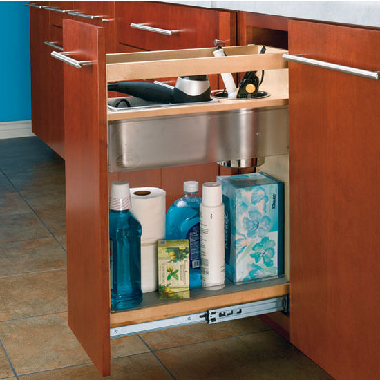 Cabinet organizers vanity and base cabinet pull out - Bathroom cabinet organizers pull out ...