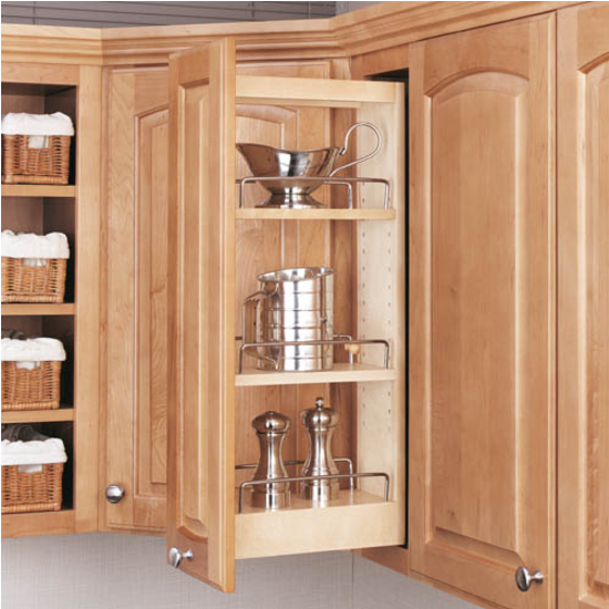 Kitchen Cabinet Pull Out Organizer: Rev-A-Shelf Kitchen Upper Cabinet Pull-Out Organizer