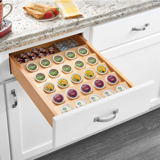 Rev-A-Shelf Cut-To-Size Insert K-Cup Organizer