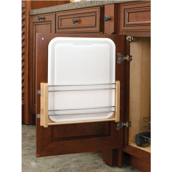 Door Mount Polyethylene Cutting Board