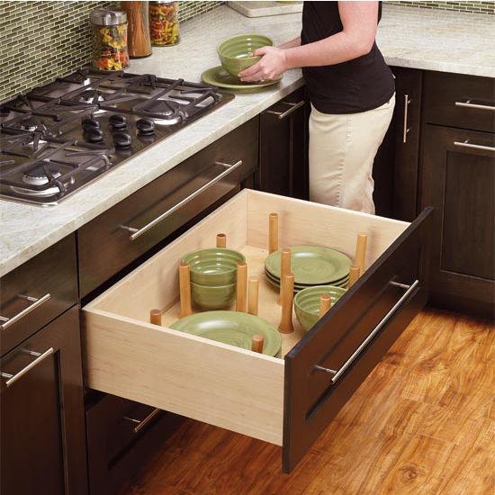 Drawer Organizer Kitchen Drawer Peg Organizer By Rev A