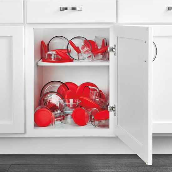 Messy Kitchen Drawer: Kitchen Storage, Base Cabinet Pullout Food Storage