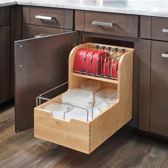 Kitchen Storage, Base Cabinet Pullout Food Storage