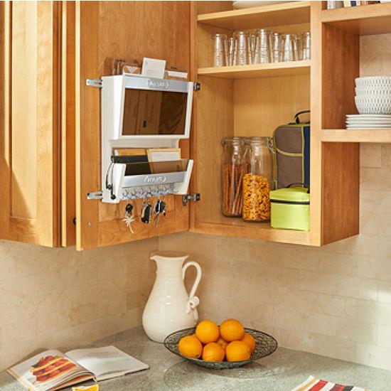 Rev a shelf cabinet door mounted letter organizer kitchensource white base workwithnaturefo
