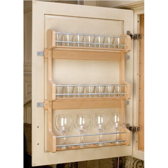door mount spice rack by rev a shelf. Black Bedroom Furniture Sets. Home Design Ideas