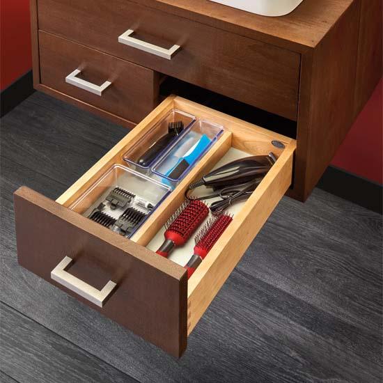 Rev-A-Shelf Single Vanity Drawer, with BLUMOTION Soft-Close Slides