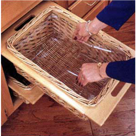 Baskets Above Kitchen Cabinets: Kitchen Cabinet Organizers By Hafele