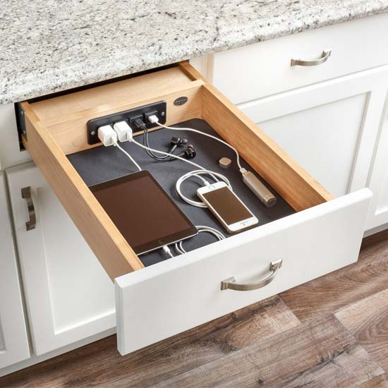 "Rev-A-Shelf Charging Drawer for 18"" Cabinet"
