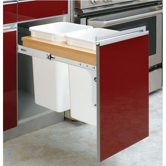 Double Pull-Out Waste Bin