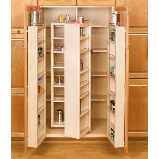 Rev A Shelf Swing Out Tall Kitchen Cabinet Chefs Pantries  : rv 4wp18 51 kit c s3 from www.kitchensource.com size 550 x 550 jpeg 56kB