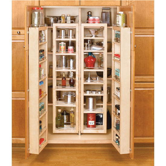 Rev a shelf swing out tall kitchen cabinet chef 39 s pantries for Tall kitchen cabinets