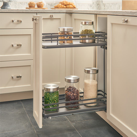Fog Series Two Tiered Base Organizer Featuring Flat Wire
